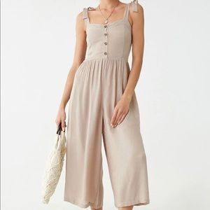 WORN ONCE Gauze Wide Legged Jumpsuit